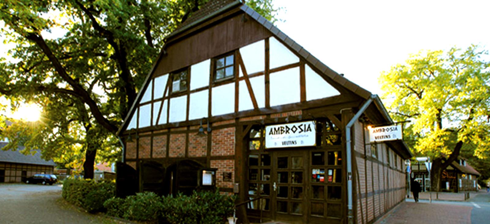 Ambrosia Restaurant Außenansicht