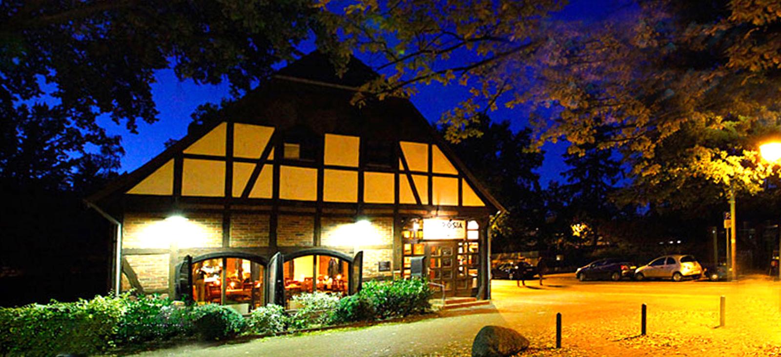 Restaurant Ambrosia Abendstimmung